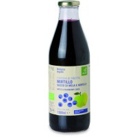 Succo di mela e mirtillo 0.750 ml