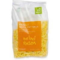 Mini Pasta - Animali  500g ECOR